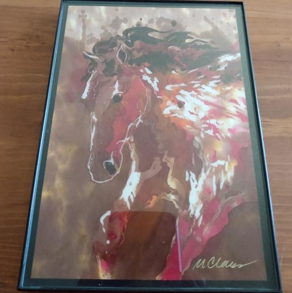 Fine Artist Marjorie Claus Signed Lithograph